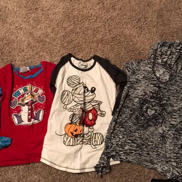 0a1e0519b3e8 Disney Shirts & Tops | Lxl Long Sleeve T Bundle | Poshmark
